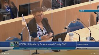 Palm Beach County health director gives COVID-19 update