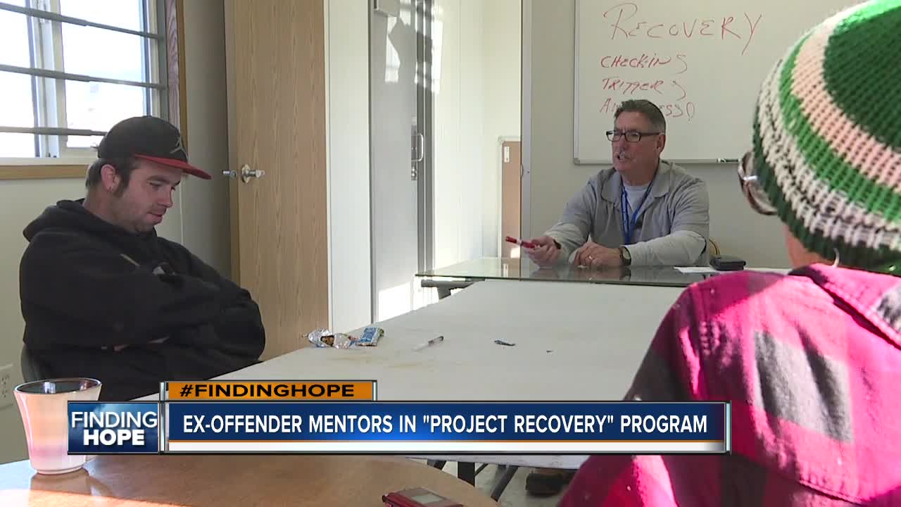 Ex-offender mentors in new 'Project Recovery' shelter program