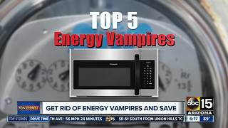 Get rid of energy vampires and save money