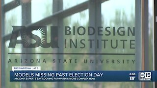 Coronavirus modeling for Arizona is missing after election day