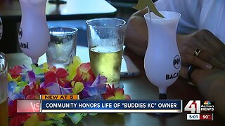 """Community honors life of """"Buddies KC"""" owner"""