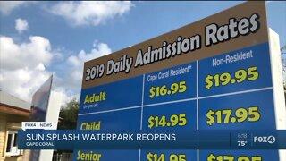Sun Splash Water Park Reopen
