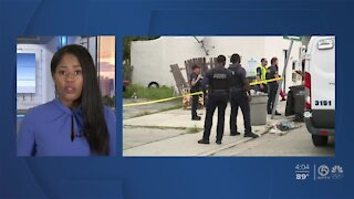 Woman injured in West Palm Beach shooting