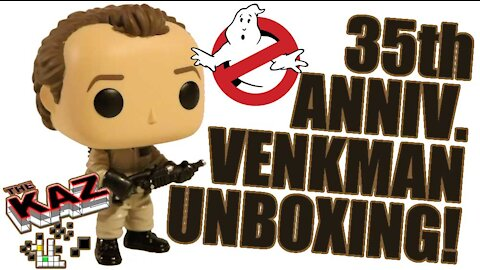 Ghostbusters 35th Anniversary Dr Peter Venkman Funko Pop Unboxing