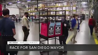 Votes still being processed in San Diego mayor's race