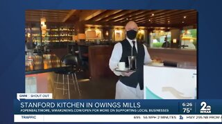 """Stanford Kitchen in Owings Mills says """"We're Open Baltimore!"""""""