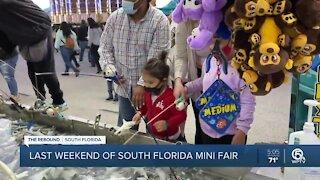 South Florida Mini Fair enters final weekend