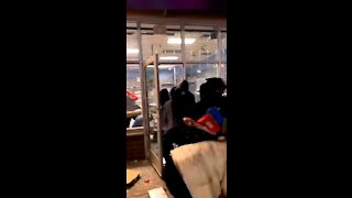 WATCH: Total Chaos as BLM Rioters Loot and Destroy Nike Store