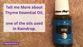 Tell Me More About Thyme Essential Oil