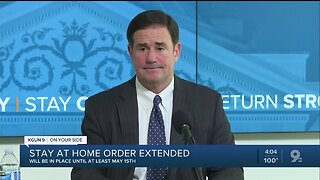 Governor Ducey extends stay-at-home order with modifications