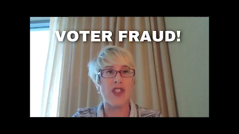 Human Rights Attorney Leigh Dundas Talks Voter Fraud!