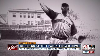 City receives grant to start repairing Satchel Paige home