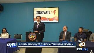 County announces new accelerator program