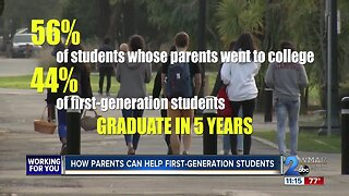 How Parents Can Help First Generation College Students