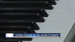 House approves veteran teacher pay legislation, moves to Senate