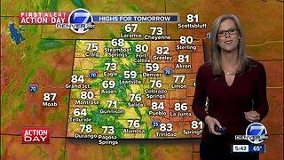 Sunday night forecast- summer weather returns!