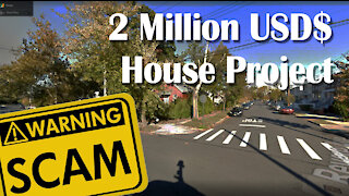 Worth 2 million dollars house project scam for architects : architecture fraud