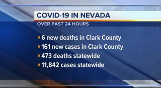 COVID-19 update for Nevada on June 17