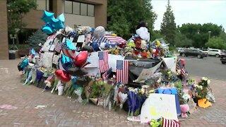 Memorial grows for fallen Arvada Officer Gordon Beesley