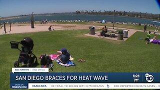 San Diego braces for heat wave