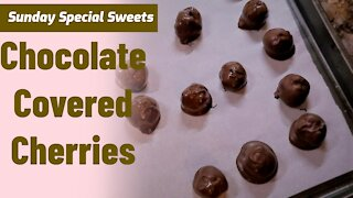 How To Make Chocolate Covered Cherries for Christmas/Sunday Special Sweets