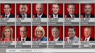 Twelve senators against electoral vote