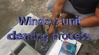 What equipment window air conditioner cleaning in the Philippines