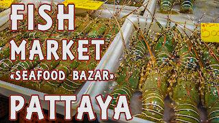 seafood market Pattaya Thailand 2020 covid