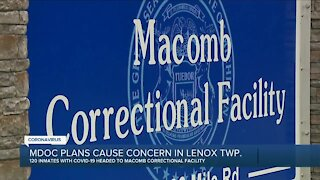 MDOC plans cause concern in Lenox Twp.