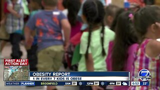 Obesity report finds 1 in every 7 kids is obese
