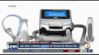 San Diego company races to produce more ventilators