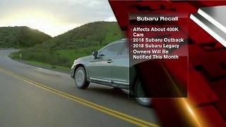 Subaru recalls 640K vehicles globally for stalling problems