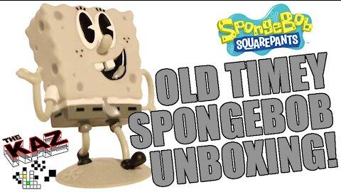 Old Timey Spongebob Squarepants Unboxing