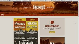 Weather Guests - Borderland Music Festival