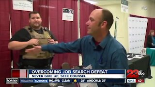 Kern Back in Business: Overcoming job search defeat