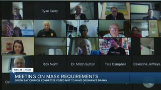 Green Bay: no recommendation for mask ordinance