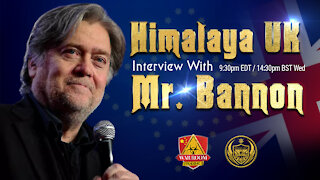 7th July, 2021 Weekly Interview with Mr. Bannon (every Wed)