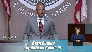 Kern County Health Department Coronavirus Update: July 16, 2020