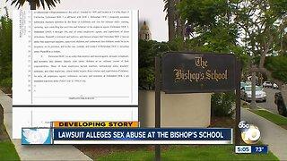 Lawsuit alleges sex abuse at Bishop's School