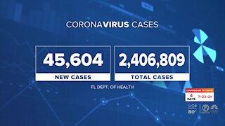 The latest coronavirus numbers