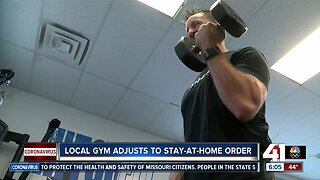 Local gym adjusts to stay-at-home order