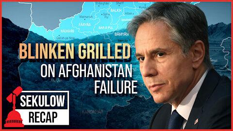 Huge Testimony: Biden Admin Grilled on Afghanistan Failure