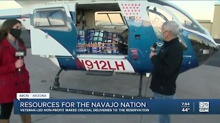 Veteran-led group helping veterans on Navajo Nation