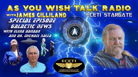 Elena Danaan and Dr. Michael Salla - As You Wish Talk Radio