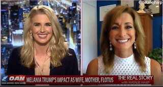 The Real Story - OANN First Lady Birthday with Peggy Grande