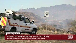 Pumpkin Fire forces evacuations