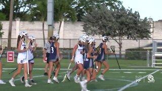 American Heritage girl's lacrosse keeps on rolling