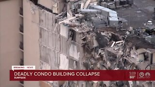 At least 99 people unaccounted for after deadly Surfside condominium collapse