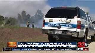 KCFD preparing for fire season