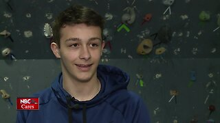 15-year-old raising money to help others